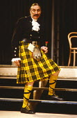 TWELFTH NIGHT by Shakespeare  design: Mark Wheeler  lighting: Dave Horn  director: Denise Coffey Stephen Lewis (Malvolio) The Young Vic, London SE1  14/10/1983                      (c) Donald Cooper/P...