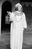 TWELFTH NIGHT by Shakespeare  design: Peter Rice  lighting: Graham Phoenix  director: John Cox Max Wall (Malvolio)Greenwich Theatre, London SE10   10/03/1977                 (c) Donald Cooper/Photosta...