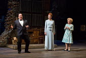 l-r: Peter Forbes (Buddy Plummer), Janie Dee (Phyllis Rogers Stone), Imelda Staunton (Sally Durant Plummer) in Stephen Sondheim's FOLLIES opening at the Olivier Theatre, National Theatre, London SE1 o...