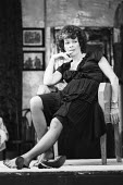 COWARDICE by Sean Mathias set design: Hayden Griffin costumes: Deirdre Clancy lighting: Rory Dempster director: Anthony Page  Janet Suzman (Babe) Ambassador's Theatre, London WC2 11/08/1983 (c) Donal...