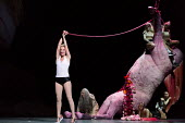 SALOME by Richard Strauss after Oscar Wilde conductor: Martyn Brabbins design: Marg Horwell lighting: Lucy Carter choreographer: Melanie Lane director: Adena Jacobs  Allison Cook (Salome) with Herodi...