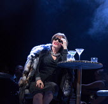 COMPANY music & lyrics: Stephen Sondheim book: George Furth design: Bunny Christie lighting: Neil Austin choreography: Liam Steel director: Marianne Elliott Patti LuPone (Joanne)~Gielgud Theatre, Lond...