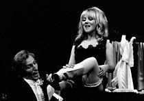 LULU by Frank Wedekind adapted by Peter Barnes set design: Patrick Robertson costumes: Rosemary Vercoe directors: Peter Barnes & Stuart Burge <br>Julia Foster (Lulu) Nottingham Playhouse, Nottingham,...