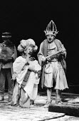 RED NOSES by Peter Barnes design: Farrah lighting: Terry Hands with Clive Morris movement: Ben Benison director: Terry Hands <br>l-r: Peter Eyre (Toulon), Antony Sher (Marcel Flote) Royal Shakespeare...
