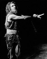 NOONDAY DEMONS by Peter Barnes design: John Napier lighting: Jim Howes director: Charles Marowitz <br>Joe Melia (St. Eusebius)Open Space Theatre, London W1 04/12/1969 (c) Donald Cooper/Photostage phot...