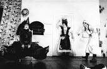 INTO THE WOODS music & lyrics: Stephen Sondheim book: James Lapine set design: Richard Hudson costumes: Sue Blane lighting: Pat Collins choreographer: Anthony Van Laast director: Richard Jones <br> l-...