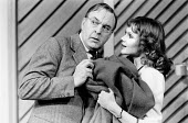 SHUT YOUR EYES AND THINK OF ENGLAND by Anthony Marriott & John Chapman director: Patrick Garland <br> Donald Sinden (Arthur Pullen), Madeline Smith (Stella Richards) Apollo Theatre, London W1 15/11/19...