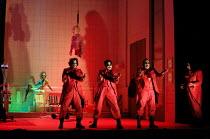 THE MASK OF ORPHEUS  music: Harrison Birtwistle  libretto: Peter Zinovieff  conductor: Martyn Brabbins  set design: Lizzie Clachan  costumes: Daniel Lismore  lighting & video design: Peter Mumford  ch...