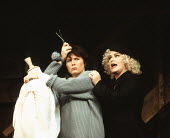 ME AND MAMIE O'ROURKE by Mary Agnes Donoghue director: Robert Allan Ackerman <br> l-r: Jennifer Saunders (Louise), Dawn French (Bibi) Strand Theatre, London WC2 16/12/1993 (c) Donald Cooper/Photostage...