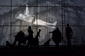 ORPHEE by Philip Glass based on the film by Jean Cocteau conductor: Geoffrey Paterson set design: Lizzie Clachan lighting design: Lucy Carter video & animation: Lightmap choreography: Danielle Agami c...