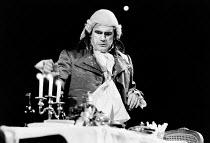 THE DANTON AFFAIR by Pam Gems set design: Farrah costumes: Judith Bland lighting: Mick Hughes director: Ron Daniels <br> Brian Cox (Georges-Jacques Danton) Royal Shakespeare Company (RSC), Barbican Th...