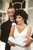 PRIVATE LIVES by Noel Coward design: Carl Toms lighting: Leonard Tucker director: Tim Luscombe <br> Keith Baxter (Elyot Chase), Joan Collins (Amanda Prynne) Aldwych Theatre, London WC2 19/09/1990 (...