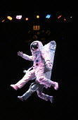 JUMPERS by Tom Stoppard design: Carl Toms lighting: David Hersey director: Peter Wood <br> Astronauts Aldwych Theatre, London WC2 01/04/1985 (c) Donald Cooper/Photostage photos@photostage.co.uk ref/CT...