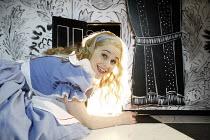 ALICE IN WONDERLAND   book & lyrics: John Wells, after Lewis Carroll   music: Carl Davis   director: Ian Brown,Annalene Beechey (Alice),West Yorkshire Playhouse / Leeds, England                   06/1...