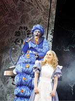 ALICE IN WONDERLAND   book & lyrics: John Wells, after Lewis Carroll   music: Carl Davis   director: Ian Brown,Mark Oxtoby (Caterpillar), Annalene Beechey (Alice),West Yorkshire Playhouse / Leeds, Eng...