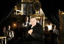 AMADEUS  by Peter Shaffer  director & designer: John Doyle ~Matthew Kelly (as Antonio Salieri)~Wilton's Music Hall, London E1  18/09/2006 ~(c) Donald Cooper/Photostage   photos@photostage.co.uk   ref/...
