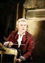 AMADEUS  by Peter Shaffer  director & designer: John Doyle ~Jonathan Broadbent (as Wolfgang Amadeus Mozart) ~Wilton's Music Hall, London E1  18/09/2006 ~(c) Donald Cooper/Photostage   photos@photostag...