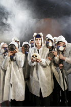 'ANTIGONE AT HELL'S MOUTH' (Nick Darke - director: Mike Shepherd),Archaeologists,National Youth Theatre / Soho Theatre, London W1     15/08/2005,