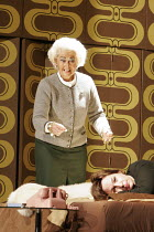 THE BITTER TEARS OF PETRA VON KANT   composer: Gerald Barry   ,based on the play by Rainer Werner Fassbinder   conductor: André de Ridder   director: Richard Jones,l-r: (rear) Kathryn Harries (Valeri...