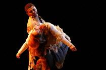 LA BOHEME   by Puccini - conductor: David Parry   director: Francesca Zambello ~Act IV - Rodolfo cradles dead Mimi - Anne-Sophie Duprels (Mimi), Victor Ryan Robertson (Rodolfo) ~Royal Albert Hall, Lon...