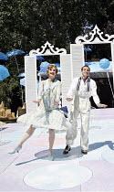 "THE BOYFRIEND   by Sandy Wilson   director: Ian Talbot,Summer Strallen (Maisie), Michael Rouse (Bobby Van Husen),Open Air Theatre / Regent""s Park, London NW1           20/07/2006,"
