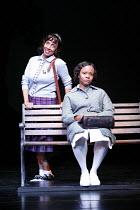 CAROLINE, OR CHANGE   book & lyrics: Tony Kushner   music: Jeanine Tesori   director: George C Wolfe,l-r: Nora Cole (Dotty Moffett), Tonya Pinkins (Caroline Thibodeaux),Lyttelton Theatre / National Th...