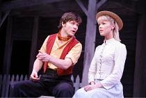 CAROUSEL   music: Richard Rodgers   book & lyrics: Oscar Hammerstein II   director: Angus Jackson,Norman Bowman (Billy Bigelow), Harriet Shore (Julie Jordan),Chichester Festival Theatre / West Sussex,...