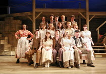 CAROUSEL   music: Richard Rodgers   book & lyrics: Oscar Hammerstein II   director: Angus Jackson,^June Is Bustin^ Out All Over^ - standing @ left: Jacqui Dubois (Nettie Fowler),Chichester Festival Th...
