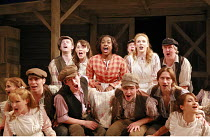 CAROUSEL   music: Richard Rodgers   book & lyrics: Oscar Hammerstein II   director: Angus Jackson,^June Is Bustin^ Out All Over^ - centre: Jacqui Dubois (Nettie Fowler),Chichester Festival Theatre / W...