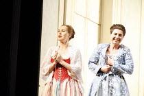 COSI FAN TUTTE   music by Mozart   libretto by da Ponte   conductor: Gerard Korsten   original director: Nicholas Hytner,l-r: Jenny Carlstedt (Dorabella), Aga Mikolaj (Fiordiligi),Glyndebourne on Tour...