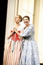 COSI FAN TUTTE   music by Mozart   libretto by da Ponte   ,conductor: Gerard Korsten   original director: Nicholas Hytner,l-r: Jenny Carlstedt (Dorabella), Aga Mikolaj (Fiordiligi),Glyndebourne on Tou...