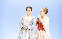 COSI FAN TUTTE   music by Mozart   libretto by da Ponte   conductor: Gerard Korsten   original director: Nicholas Hytner,l-r: Aga Mikolaj (Fiordiligi), Jenny Carlstedt (Dorabella),Glyndebourne on Tour...