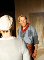 THE CRUCIBLE   by Arthur Miller   director: Dominic Cooke,Iain Glen (John Proctor), (with Helen Schlesinger / Elizabeth Proctor),Royal Shakespeare Company /  Royal Shakespeare Theatre, Stratford-upon-...