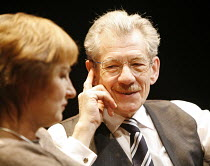 THE CUT   by Mark Ravenhill   director: Michael Grandage,Deborah Findlay (Susan), Ian McKellen (Paul),Donmar Warehouse / London WC2                   28/02/2006    ,