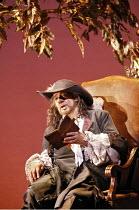 CYRANO   music: Franco Alfano   libretto: Henri Cain after Rostand   conductor: Mark Elder   director: Francesca Zambello,Act IV: Placido Domingo (Cyrano),The Royal Opera / Covent Garden   London WC2...