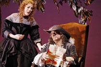 CYRANO   music: Franco Alfano   libretto: Henri Cain after Rostand   conductor: Mark Elder   director: Francesca Zambello,Act IV: Sondra Radvanovsky (Roxane), Placido Domingo (Cyrano),The Royal Opera...