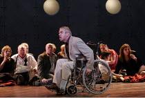 'THE DEATH OF KLINGHOFFER' (music: John Adams   libretto: Alice Goodman   conductor: Edward Gardner   director: Anthony Neilson),defiant hostage: Jonathan Summers (Leon Klinghoffer),Scottish Opera pro...