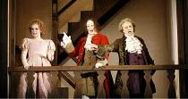 DON PASQUALE   by Donizetti - conductor: Bruno Campanella   original director: Jonathan Miller,l-r: Aleksandra Kurzak (Norina), Christopher Maltman (Doctor Malatesta), Alessandro Corbelli (Don Pasqual...