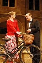 DONKEYS^ YEARS   by Michael Frayn   director: Jeremy Sams,Samantha Bond (Lady Driver, MA), David Haig (C D P B Headingly, MA, MP) ,Comedy Theatre / London SW1                          09/05/2006...