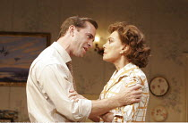 EPITAPH FOR GEORGE DILLON   by John Osborne & Anthony Creighton   director: Peter Gill,Joseph Fiennes ( George Dillon), Francesca Annis (Ruth),Comedy Theatre / London SW1              27/09/2005...