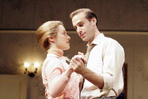 EPITAPH FOR GEORGE DILLON   by John Osborne & Anthony Creighton   director: Peter Gill,Zoe Tapper (Josie), Joseph Fiennes ( George Dillon),Comedy Theatre / London SW1              27/09/2005       ,