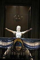 EVITA  music: Andrew Lloyd Webber  lyrics: Tim Rice  director: Michael Grandage ~~Elena Roger (Eva Peron) ~Adelphi Theatre, London WC2  21/06/2006 ~(c) Donald Cooper/Photostage   photos@photostage.co....