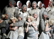 THE FLYING DUTCHMAN (Der Fliegende Hollander) by Wagner   conductor: Carlo Rizzi   director: David Pountney,Daland's crew commit 'gang rape',Welsh National Opera / Wales Millennium Centre, Cardiff...