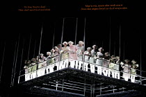 THE FLYING DUTCHMAN (Der Fliegende Hollander) by Wagner   conductor: Carlo Rizzi   director: David Pountney,chorus with English & Welsh surtitles,Welsh National Opera / Wales Millennium Centre, Cardif...