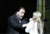 THE FLYING DUTCHMAN (Der Fliegende Hollander) by Wagner   conductor: Carlo Rizzi   director: David Pountney~Bryn Terfel (The Dutchman), Annalena Persson (Senta),Welsh National Opera / Wales Millennium...