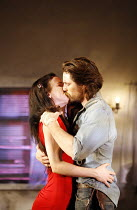 FOOL FOR LOVE   by Sam Shepard   director: Lindsay Posner, Juliette Lewis (May), Martin Henderson (Eddie),Apollo Theatre, London W1          15/06/2006,