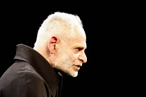 THE GRAND INQUISITOR   from 'The Brothers Karamazov' by Dostoyevsky   adapted by Marie Helene Estienne   director: Peter Brook,Bruce Myers (The Grand Inquisitor),BITE:06 / The Pit / Barbican Theatre,...