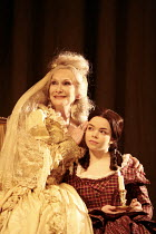 GREAT EXPECTATIONS   by Dickens   in a new adaptation by Nick Ormerod & Declan Donnellan  , in association with Cheek by Jowl   director: Declan Donnellan,l-r: Sian Phillips (Miss Havisham), Jo Woodst...