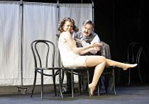HABEAS CORPUS   by Alan Bennett   director: Peter Hall,Caitlin Mottram (Felicity Rumpers), James Fleet (Doctor Arthur Wicksteed),Peter Hall Season / Theatre Royal Bath, England          13/07/2006,