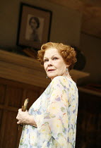 HAY FEVER   by Noel Coward   director: Peter Hall,Judi Dench (Judith Bliss),Theatre Royal Haymarket, London SW1                        20/04/2006,~(c) Donald Cooper/Photostage   photos@photostage.co.u...